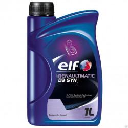 Масло трансмиссионное ELF RENAULTMATIC D3 SYN для АКПП 194754 1 литр