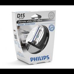 Лампа ксеноновая PHILIPS D1S Xenon White Vision 6000K 85V 35W
