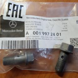 Болт пустотелый с клапаном Mercedes A0019972401